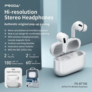 Наушники PRODA Hi-resolution Stereo AirPlus Pro PD-BT700