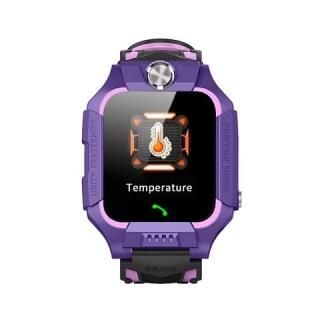"Детские смарт-часы W02S Thermometer (1.44"", IP67, Camera, LBS)"