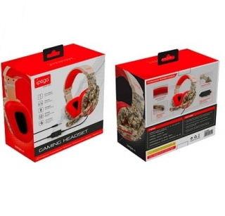 Наушники iPega Gaming PG-R005 |3.5mm, Noice Reduction|