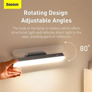 Лампа Baseus Magnetic Stepless Dimming Charging Desk Lamp Deep gray