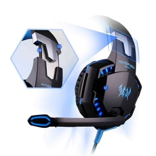 Наушники KOTION EACH Gaming with LED G2000
