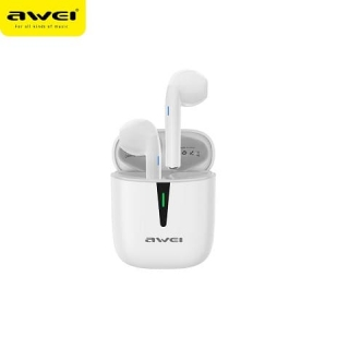 Наушники Bluetooth AWEI T21 TWS BT5.0, 30/300mAh, 2.5 Hours