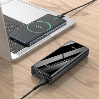 Power bank HOCO J45 Pro Graceful fully compatible 10000mAh black