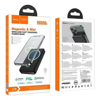 Power bank HOCO J79 Success magnetic wireless fast charging 10000mAh