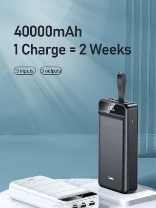 Power bank REMAX Leader Series Fast Chaging Power Bank RPP-184 40000mAh