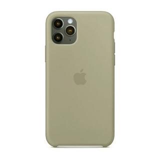 Накладка Silicone Case Full iPhone 11 Pro pebble (23)