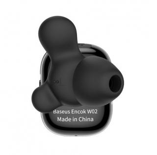 Наушники Bluetooth BASEUS Encok Truly W02 black