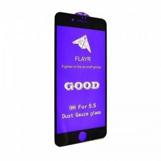 Защитное стекло 5D 9H iPhone 7 Plus,8 Plus black с сеткой на динамик