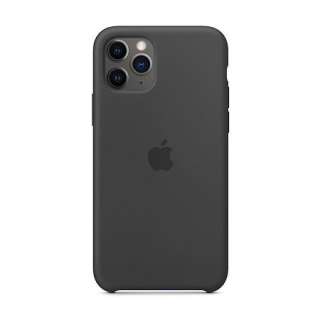 Накладка Silicone Case iPhone 11 Pro Max black (18)
