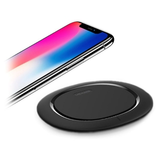 USAMS Wireless Fast Charger US-CD29 (10W, 2A) black