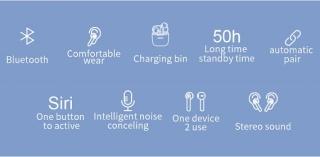 Наушники JOYROOM JR-T04 Bluetooth