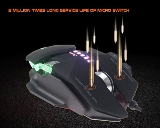 Meetion MT-GM80 Gaming Mouse black