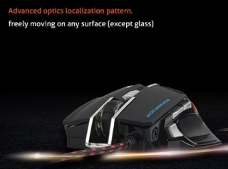Meetion MT-M975 Wired Backlit Mechanical Gaming Mouse USB