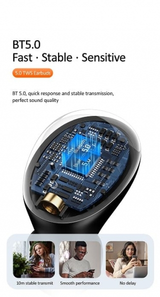 Bluetooth USAMS-YJ Digital Display Wireless 5.0 - YJ Series