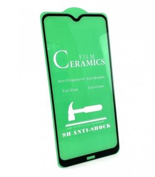 Защитное стекло Ceramic Xiaomi Redmi 8/8A Black