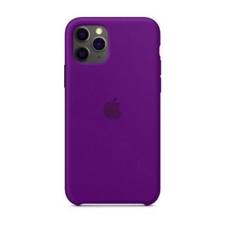Накладка Silicone Case Full iPhone 11 Pro purple (34)