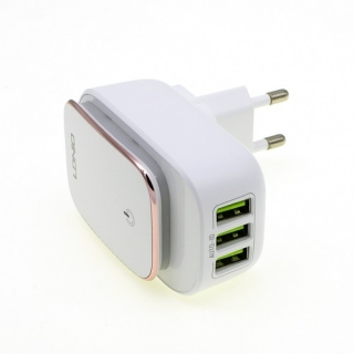 СЗУ Ldnio A3305 c Micro USB (3USB with touch light, 3.4A)