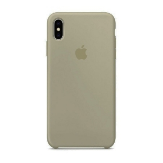 Накладка Silicone Case Full iPhone XR pebble (23)