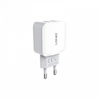СЗУ Ldnio A2202 c Lightning (2USB, 2.4A) white