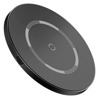БЗУ Baseus Simple Magnetic Wireless Charger (suit for IP12)