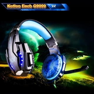 Наушники KOTION EACH Gaming with LED G9000