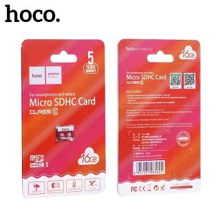 Карта памяти Hoco MicroSD Class 10 16GB