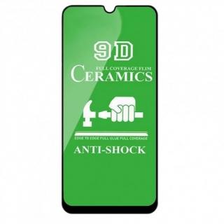 Защитное стекло Ceramic Samsung A70 Black