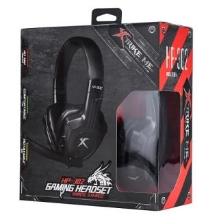 Игровые наушники XTRIKE HP-302 BK Wired headphone