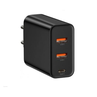 СЗУ Baseus PPS three output quick charger(C+U+U)60W (EU)
