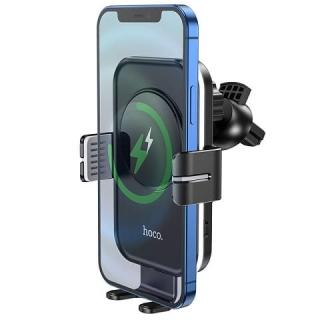 Автодержатель HOCO CA80 Buddy smart wireless charging car holder