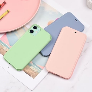 Чехол HOCO Colorful series liquid silicone for Phone11