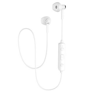 Bluetooth наушники Hoco ES21 Wonderful sports white