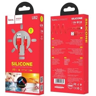 Кабель Hoco U82 Cool grace silicone for Type-C