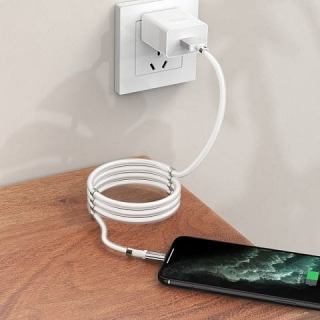 Кабель Hoco U91 Magic magnetic charging for Lightning