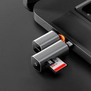 Переходник BASEUS Mini-Cabin card reader USB/Type-C, SD/TF Cards