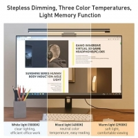 Десктоп-лампа скринбар BASEUS i-wok series USB stepless dimming screen hanging light
