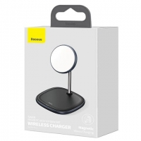 БЗУ Baseus Swan Magnetic Desktop Bracket Wireless Charger (suit for IP12)