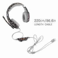 Наушники KOTION EACH Gaming with LED G9600