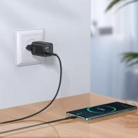 Адаптер сетевой HOCO N13 Type-C to Type-C cable Bright charger set N13