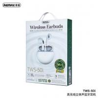 Наушники Bluetooth REMAX True Wirelss Stereo Earbuds TWS-50i