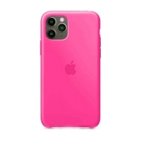 Накладка Silicone Case Full iPhone 11 Pro Max shiny pink (38)