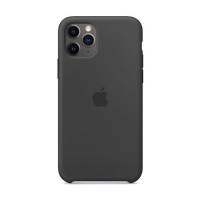Накладка Silicone Case Full iPhone 11 black (18)
