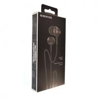 Наушники Borofone BM22 black с микрофоном
