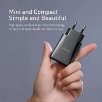 СЗУ Baseus DZ-HW Speed Mini PD Single Type-C QC18W for Type-C to iP PD 1m