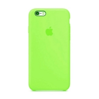 Накладка Silicone Case iPhone 7,8 green (32)