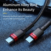 Кабель Baseus Cafule PD2.0 100W flash charging USB For Type-C cable