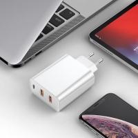 СЗУ Baseus PPS three output quick charger(C+U+U)60W (EU)