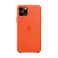 Накладка Silicone Case Full iPhone 11 Pro Max apricot (2)