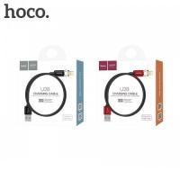 Кабель Hoco U28 Magnetic adsorption Lightning Black