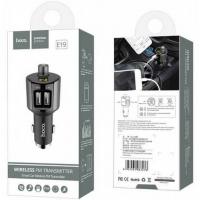 АЗУ Hoco E19 Bluetooth FM Launcher (2USB, 2.4А)